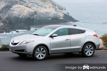 Insurance quote for Acura ZDX in Sacramento