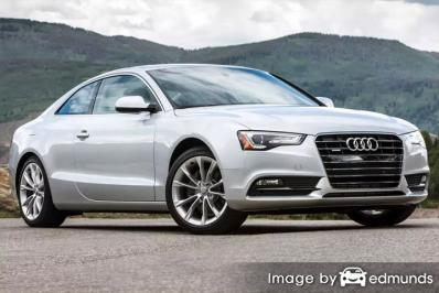 Insurance rates Audi A5 in Sacramento