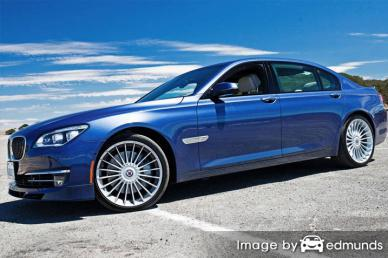 Insurance quote for BMW Alpina B7 in Sacramento