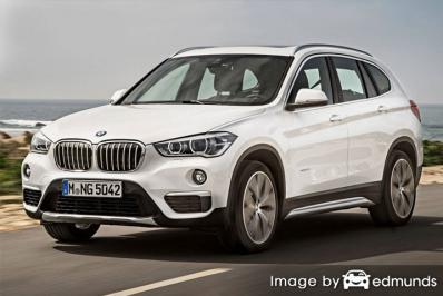 Insurance quote for BMW X1 in Sacramento