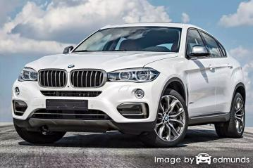 Insurance quote for BMW X6 in Sacramento