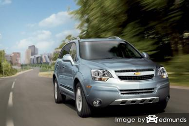Insurance quote for Chevy Captiva Sport in Sacramento