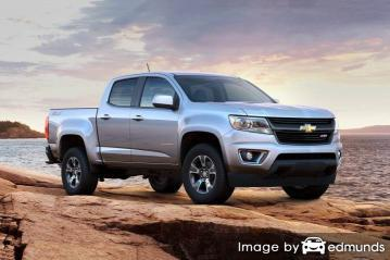 Insurance for Chevy Colorado