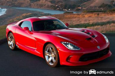 Insurance quote for Dodge Viper in Sacramento