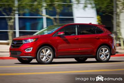 Insurance quote for Ford Edge in Sacramento