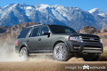 Insurance rates Ford Expedition in Sacramento