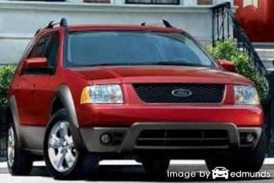 Insurance rates Ford Freestyle in Sacramento