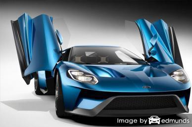 Insurance quote for Ford GT in Sacramento