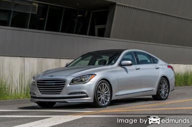 Insurance quote for Hyundai G80 in Sacramento