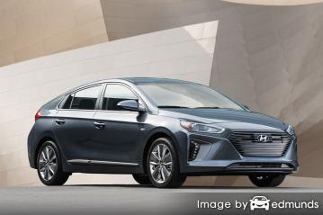 Insurance rates Hyundai Ioniq in Sacramento