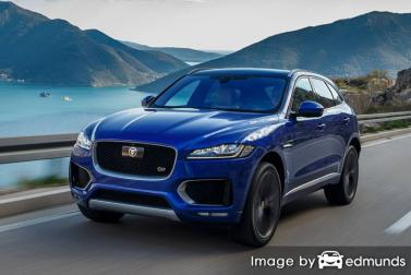 Insurance quote for Jaguar F-PACE in Sacramento