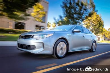 Insurance rates Kia Optima Plug-In Hybrid in Sacramento