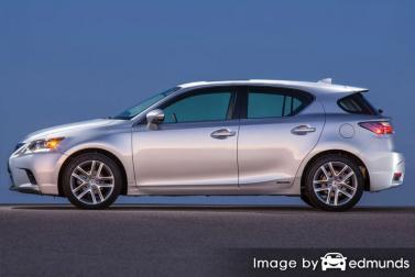 Insurance quote for Lexus CT 200h in Sacramento