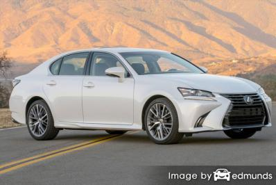 Insurance quote for Lexus GS 350 in Sacramento