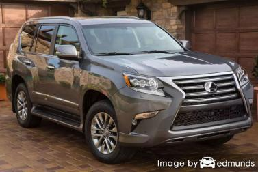 Insurance quote for Lexus GX 460 in Sacramento
