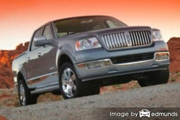 Insurance quote for Lincoln Mark LT in Sacramento