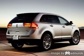 Insurance rates Lincoln MKX in Sacramento