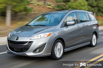 Insurance quote for Mazda 5 in Sacramento