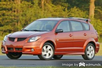 Insurance quote for Pontiac Vibe in Sacramento