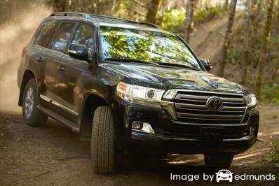 Insurance rates Toyota Land Cruiser in Sacramento