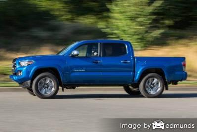 Insurance quote for Toyota Tacoma in Sacramento