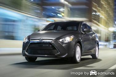 Insurance quote for Toyota Yaris iA in Sacramento