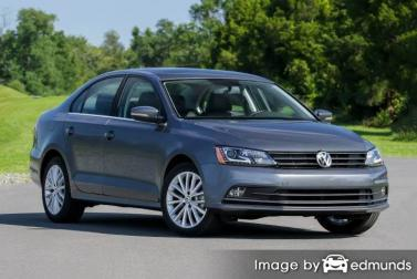 Insurance quote for Volkswagen Jetta in Sacramento